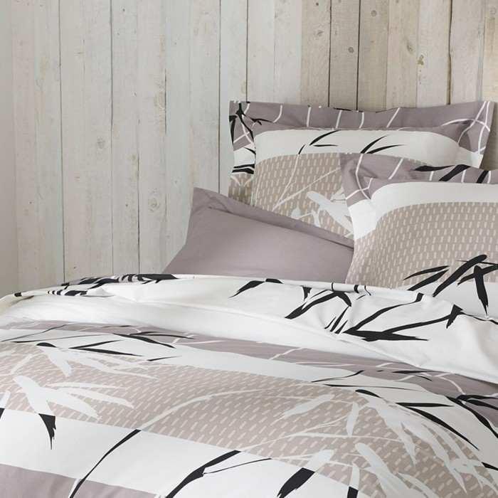 Flat Sheet Bed Set Camargue   Linge De Lit   Tradition Des Vosges