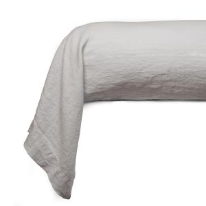 Plain bolster case washed cotton