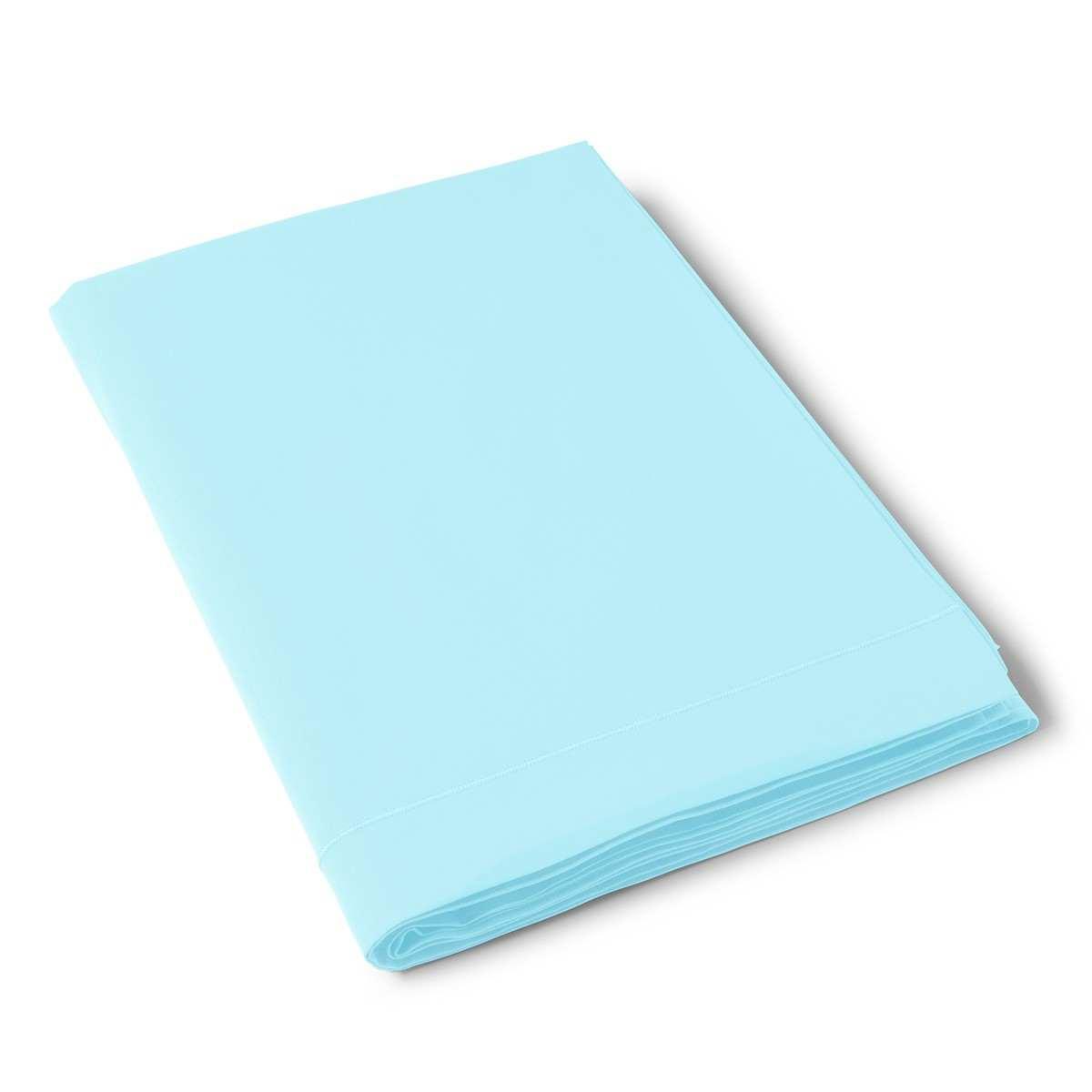Drap plat uni coton soldes jusqu 39 55 linge de lit - Drap plat enfant ...