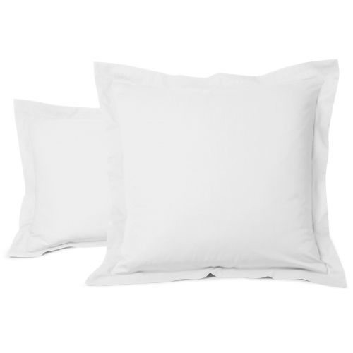 Pillowcase Solid Color Cotton white | Bed linen | Tradition des Vosges