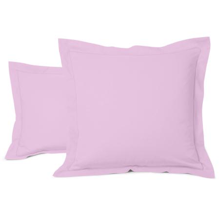 Taie Oreiller Unie Coton Lavande | Linge de lit | Tradition des vosges
