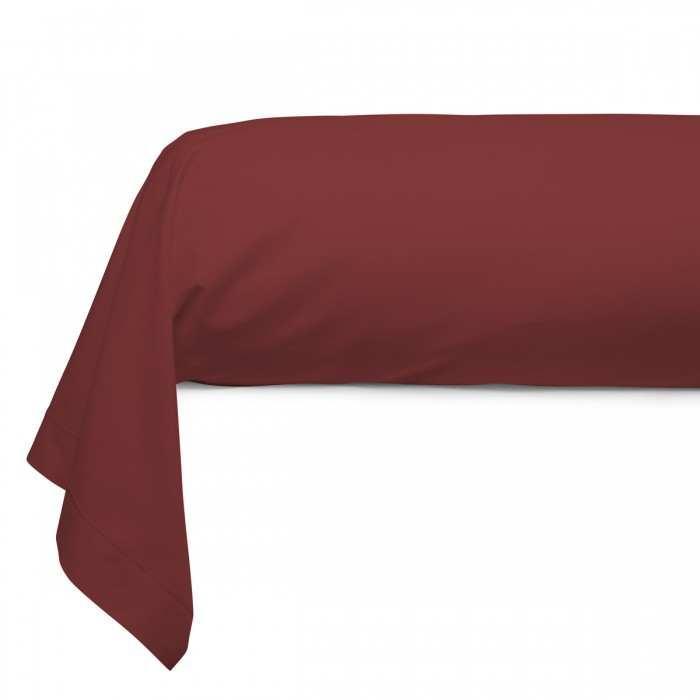 Taie Traversin Unie Coton Anisette | Linge de lit | Tradition des vosges