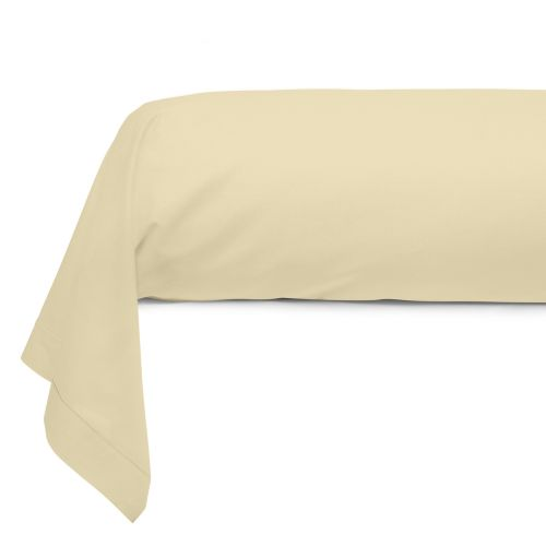 Bolster Solid Color Cotton beige | Bed linen | Tradition des Vosges