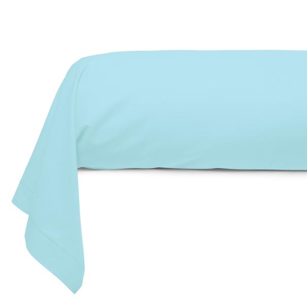 Taie Traversin Unie Coton Prune   Linge de lit   Tradition des Vosges