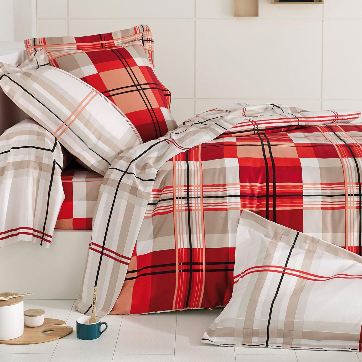 housse de couette caroline linge de lit de qualit tradition des vosges. Black Bedroom Furniture Sets. Home Design Ideas