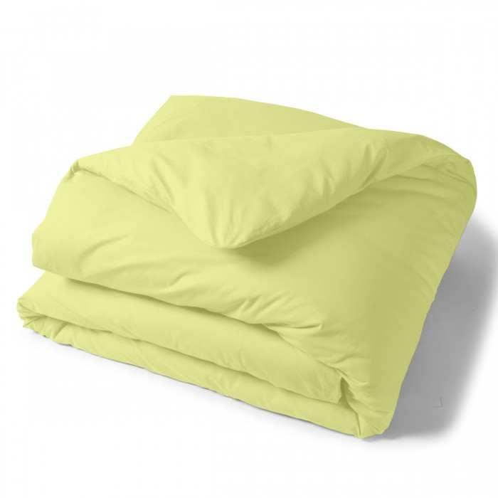 Duvet Cover Solid Color Cotton green | Bed linen | Tradition des Vosges