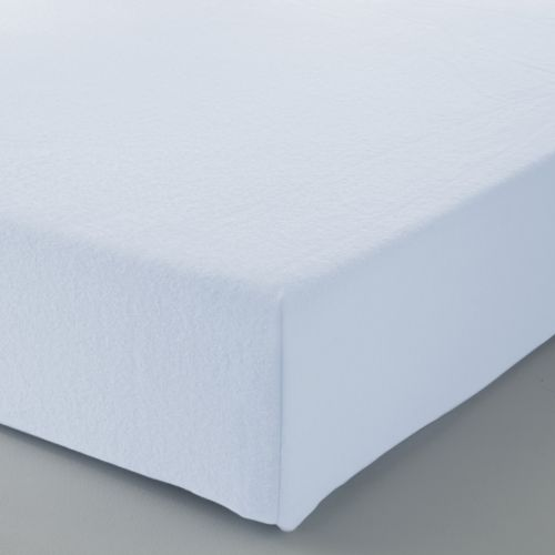 Fitted Sheet Solid Color Flannel white | Bed linen | Tradition des Vosges
