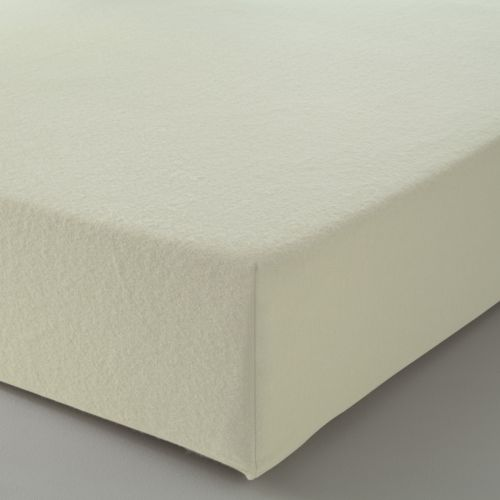 Fitted Sheet Solid Color Flannel beige | Bed linen | Tradition des Vosges