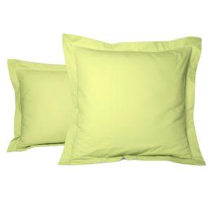 Plain pillow case percale cotton