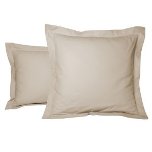 Plain pillow case percale cotton