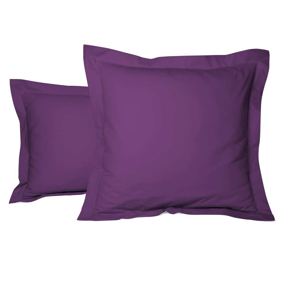 taie oreiller unie percale soldes jusqu 39 55 linge. Black Bedroom Furniture Sets. Home Design Ideas