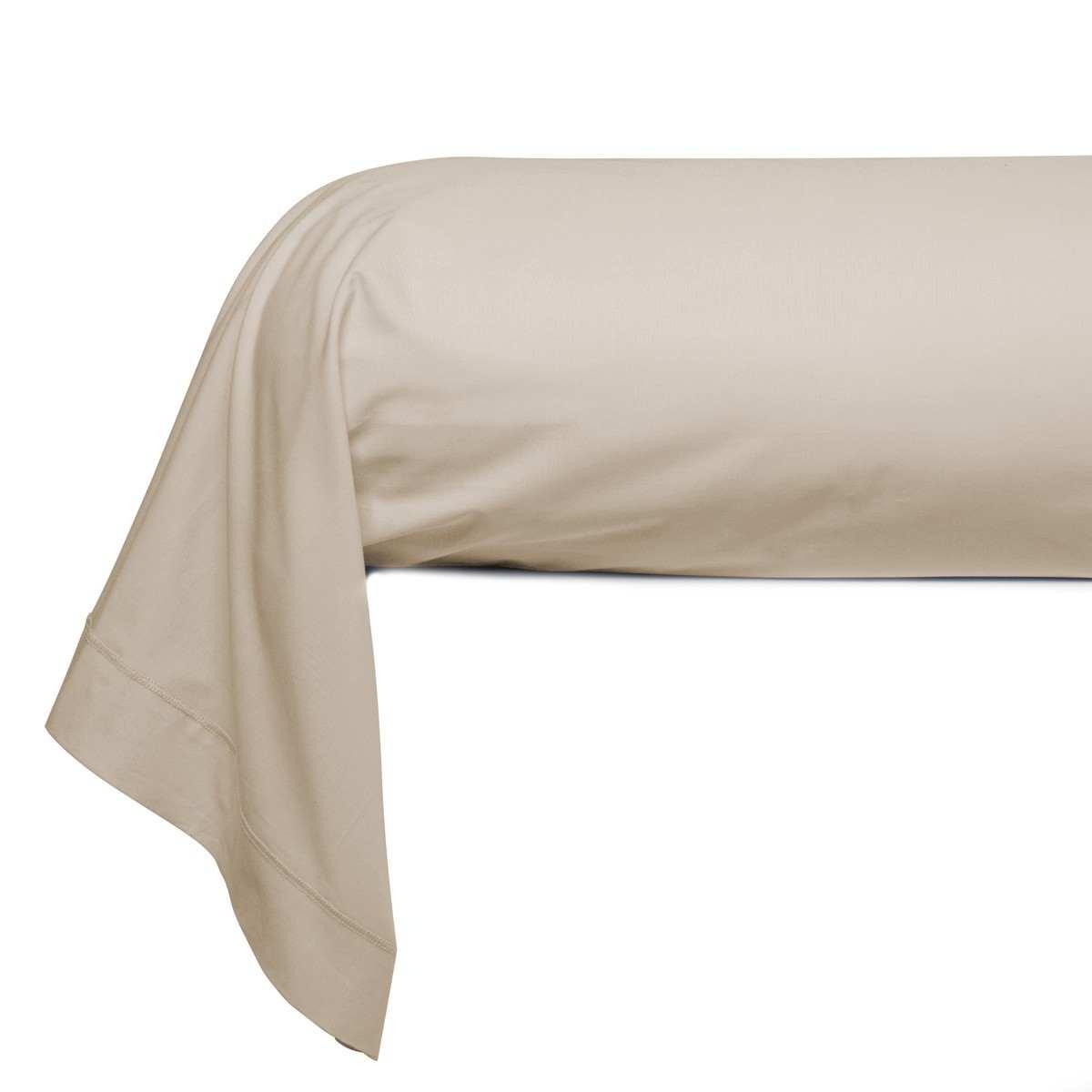 taie traversin unie percale linge de lit de qualit. Black Bedroom Furniture Sets. Home Design Ideas
