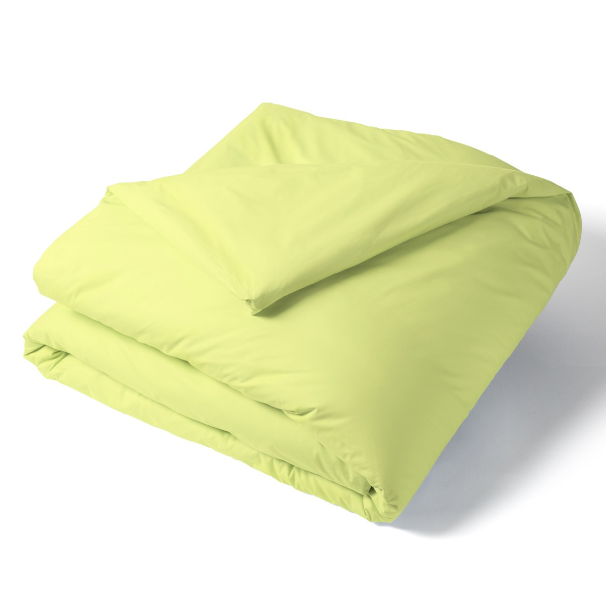 Duvet Cover Solid Color Percale yellow | Bed linen | Tradition des Vosges