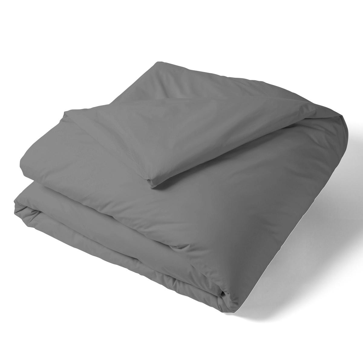 housse de couette unie percale linge de lit de qualit