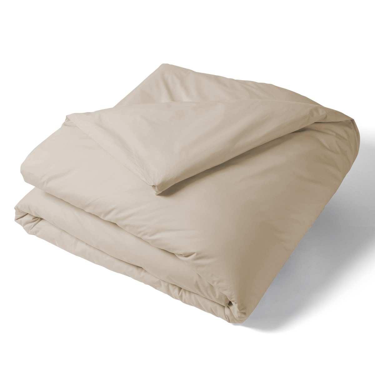 housse de couette unie percale linge de lit de qualit tradition des vosges. Black Bedroom Furniture Sets. Home Design Ideas