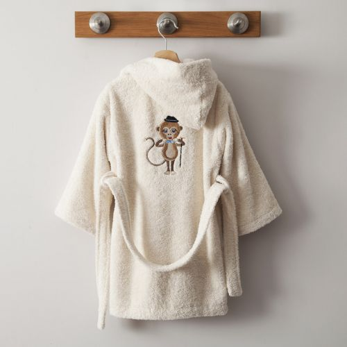 Bathrobe Zanimo Ivoire