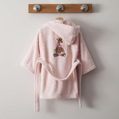 Bathrobe Zanimo Rose Pale