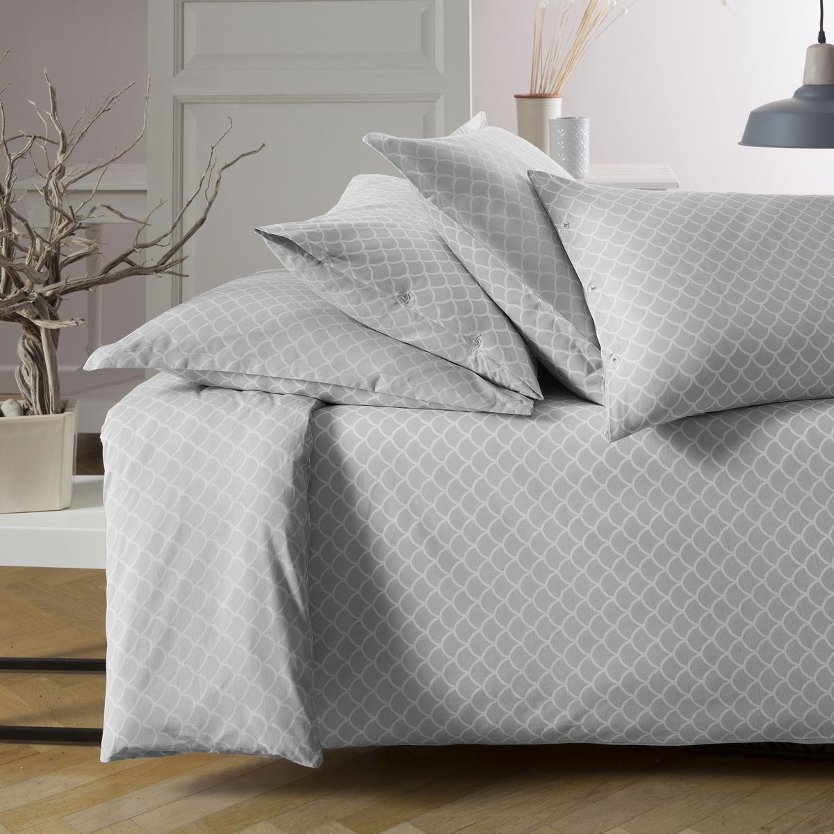 Parure vice versa linge de lit de qualit tradition - Housse de couette tradition des vosges ...