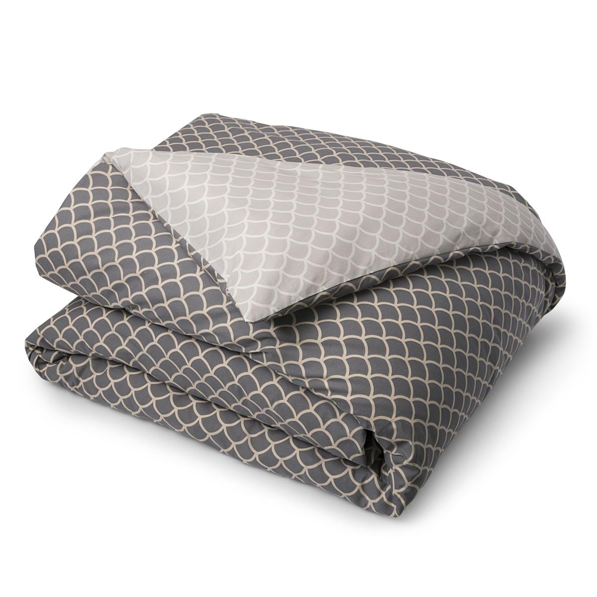 housse de couette vice versa coton 57 fils linge de lit de qualit tradition des vosges. Black Bedroom Furniture Sets. Home Design Ideas