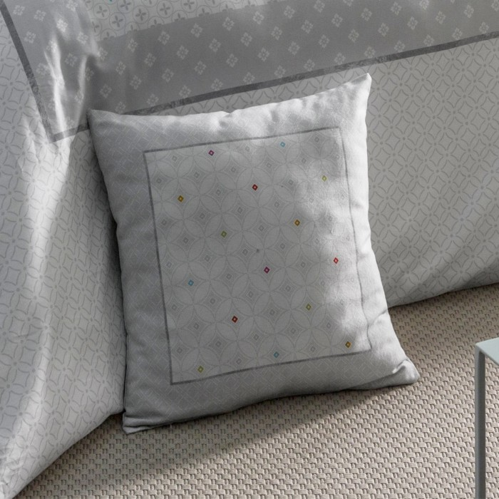 Cushion Cover Aster Carré | Bed linen | Tradition des Vosges