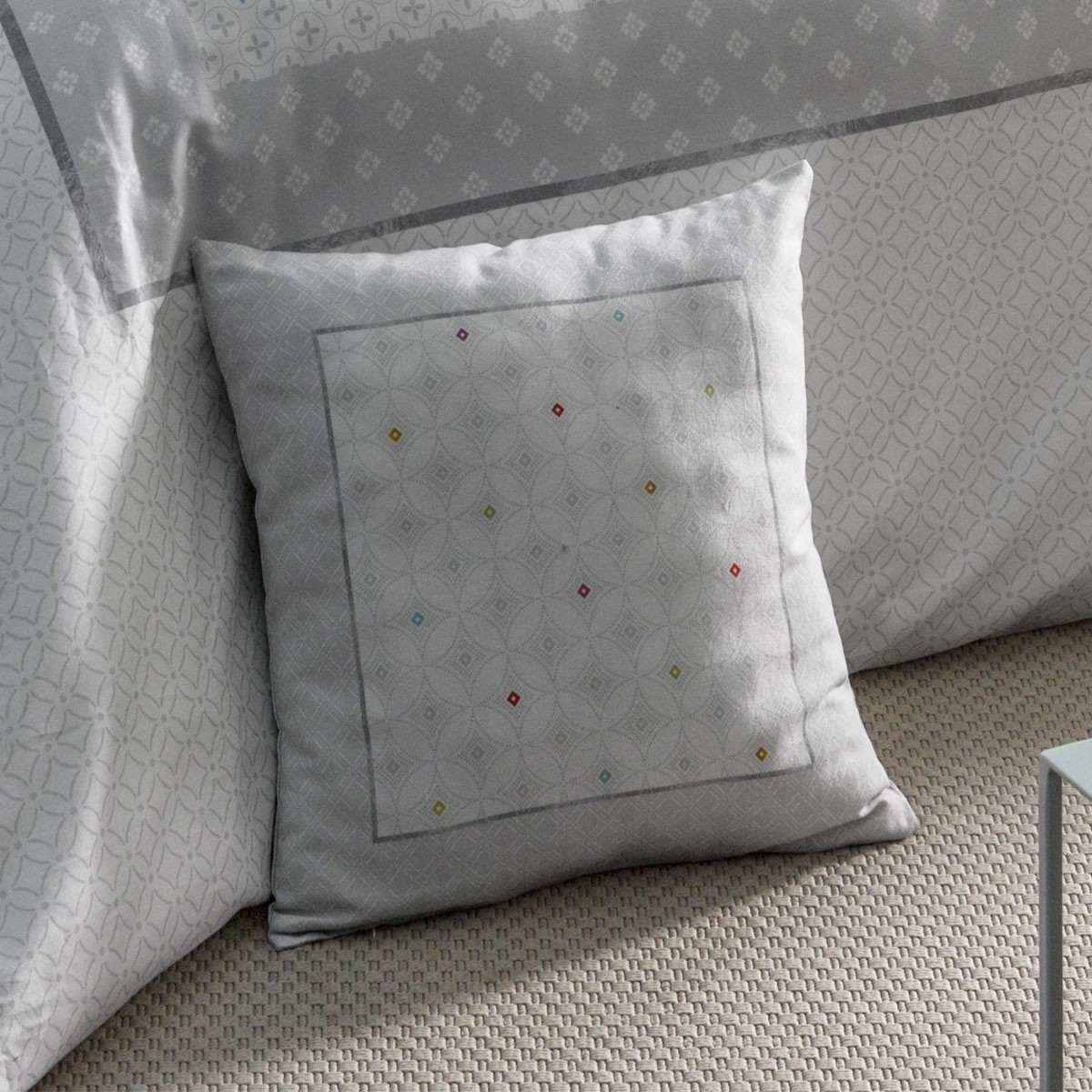 Cushion Cover Aster Carré | Bed linen | Tradition des Vosges