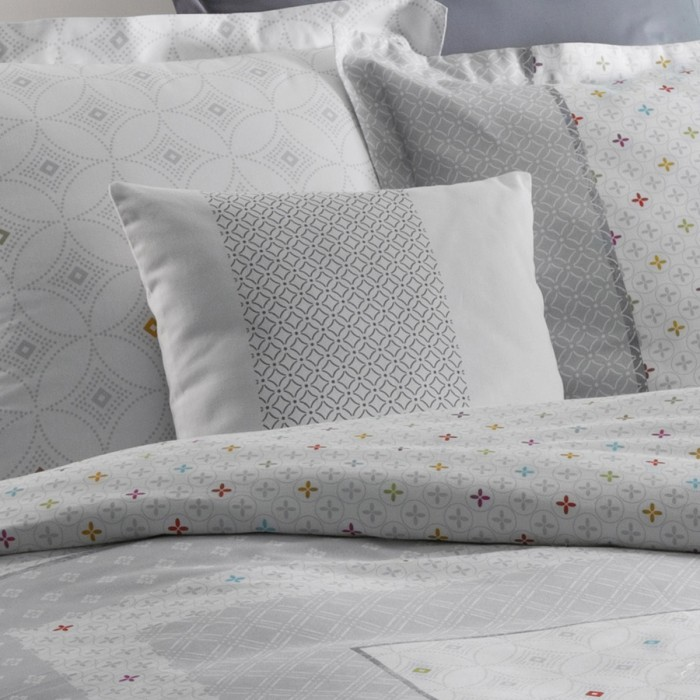 Cushion Cover Aster Frise | Bed linen | Tradition des Vosges