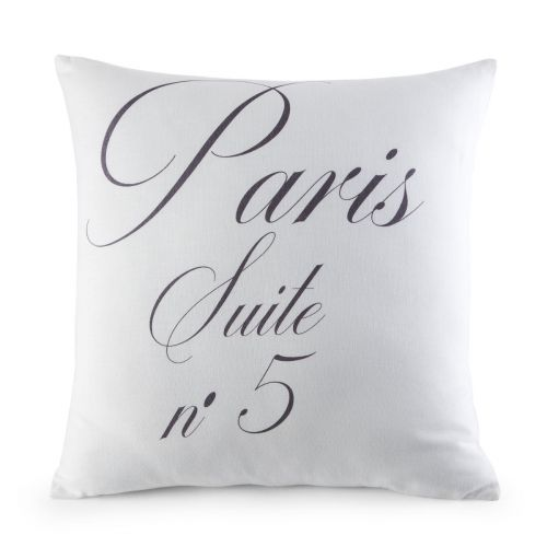 Cushion Cover Paris Blanc | Bed linen | Tradition des Vosges