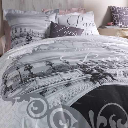 Duvet Cover Bed Set Paris