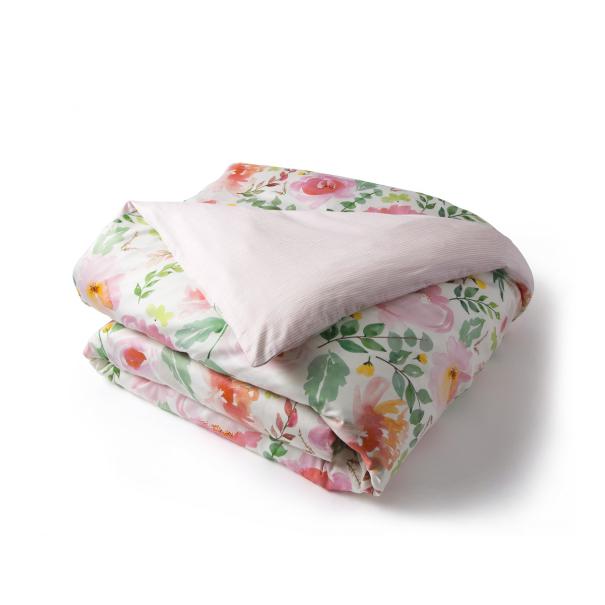 Parure delicatesse soldes jusqu 39 55 linge de lit de qualit tradition des vosges - Guide taille housse de couette ...