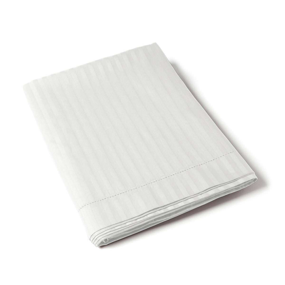 Flat Sheet Satin Couture Jour Venise white | Bed linen | Tradition des Vosges