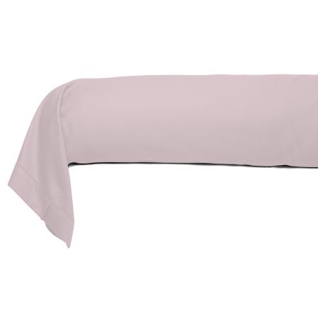 Bolster Satin Couture Jour Venise pink | Bed linen | Tradition des Vosges