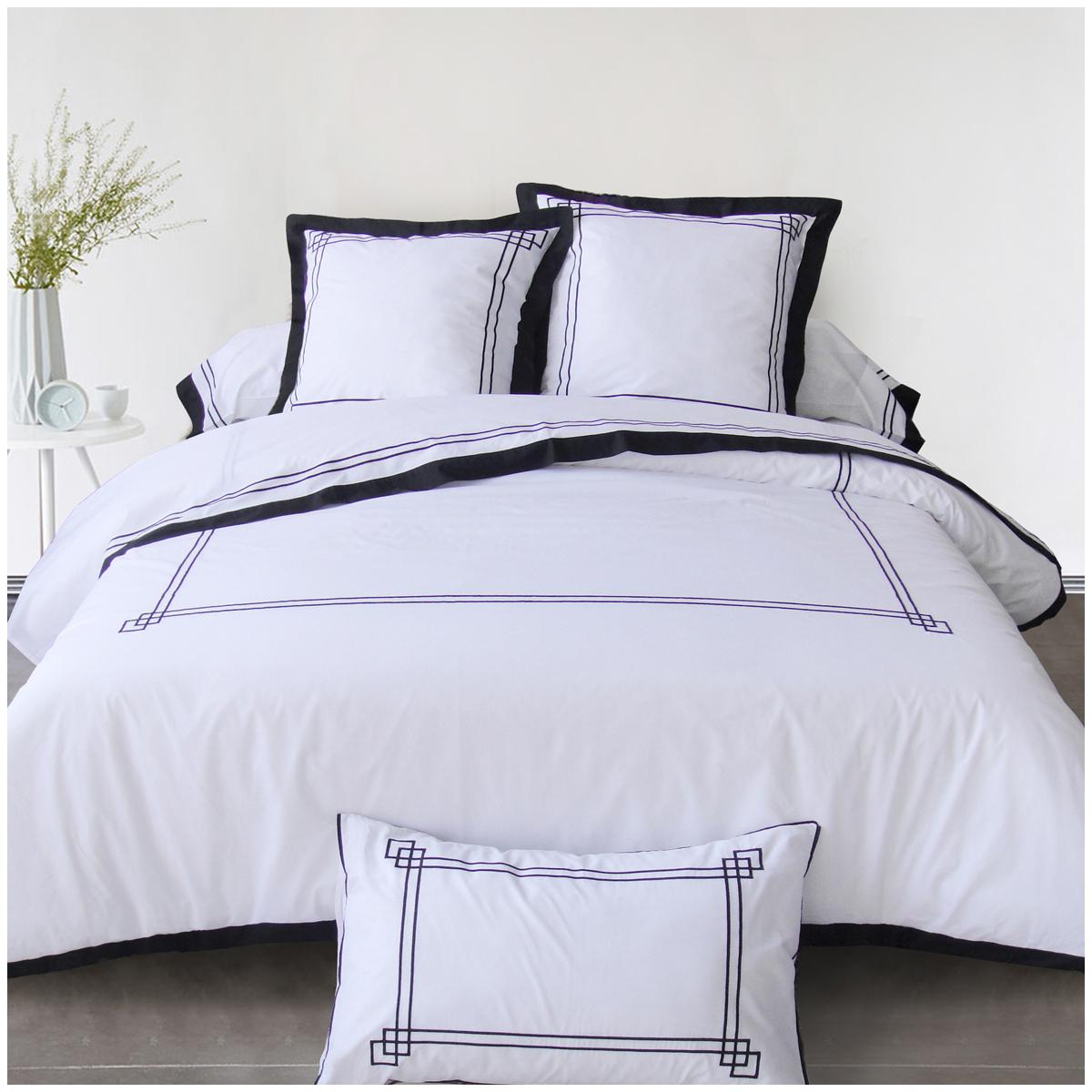 parure pompei parure de lit 2 personnes tradition des vosges. Black Bedroom Furniture Sets. Home Design Ideas