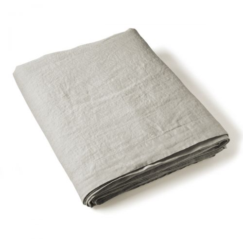 Flat Sheet Washed Linen grey | Linge de lit | Tradition des Vosges