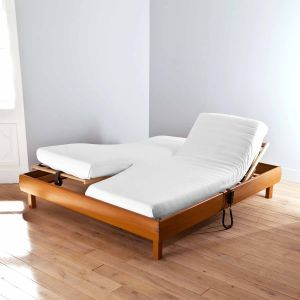 Antibacterial Fitted Sheet Mattress Protector for Twin Beds