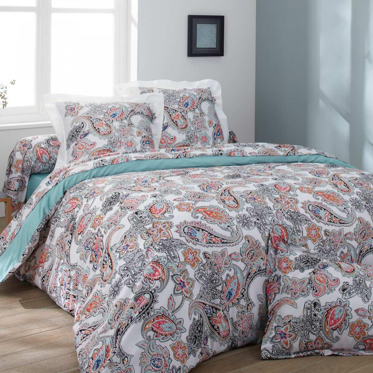 parure drap taj mahal linge de lit de qualit tradition des vosges. Black Bedroom Furniture Sets. Home Design Ideas