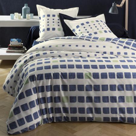 housse de couette en promo linge de maison de qualit tradition des vosges. Black Bedroom Furniture Sets. Home Design Ideas