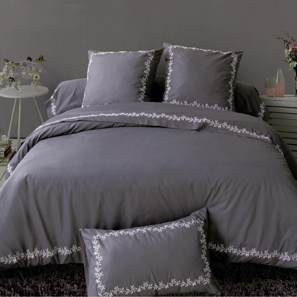 Housse de couette reverie linge de lit de qualit for Tradition des vosges housse de couette