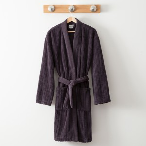 Bathrobe Nature Grey Anthracite