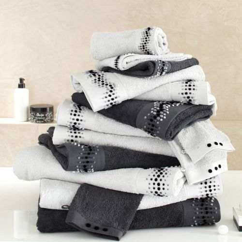 Volute bath linen set