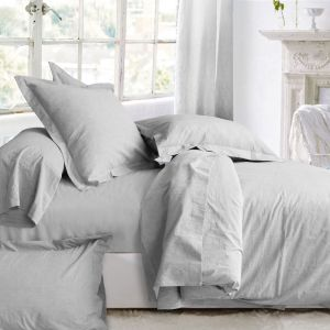 Washed cotton bed linen set