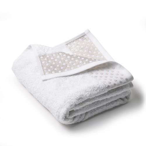 Embroidered Lurex Luxe towel