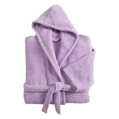Bathrobe Plain purple | Linge de lit | Tradition des Vosges