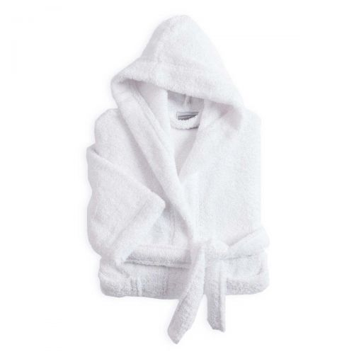 Children's bathrobe white | Bed linen | Tradition des Vosges