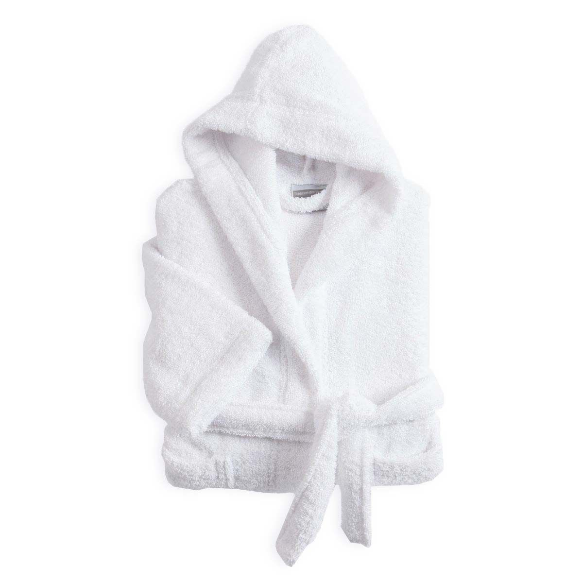 Peignoir Enfant Coton 420g Blanc neige | Linge de bain | peignoir enfant | Tradition des Vosges