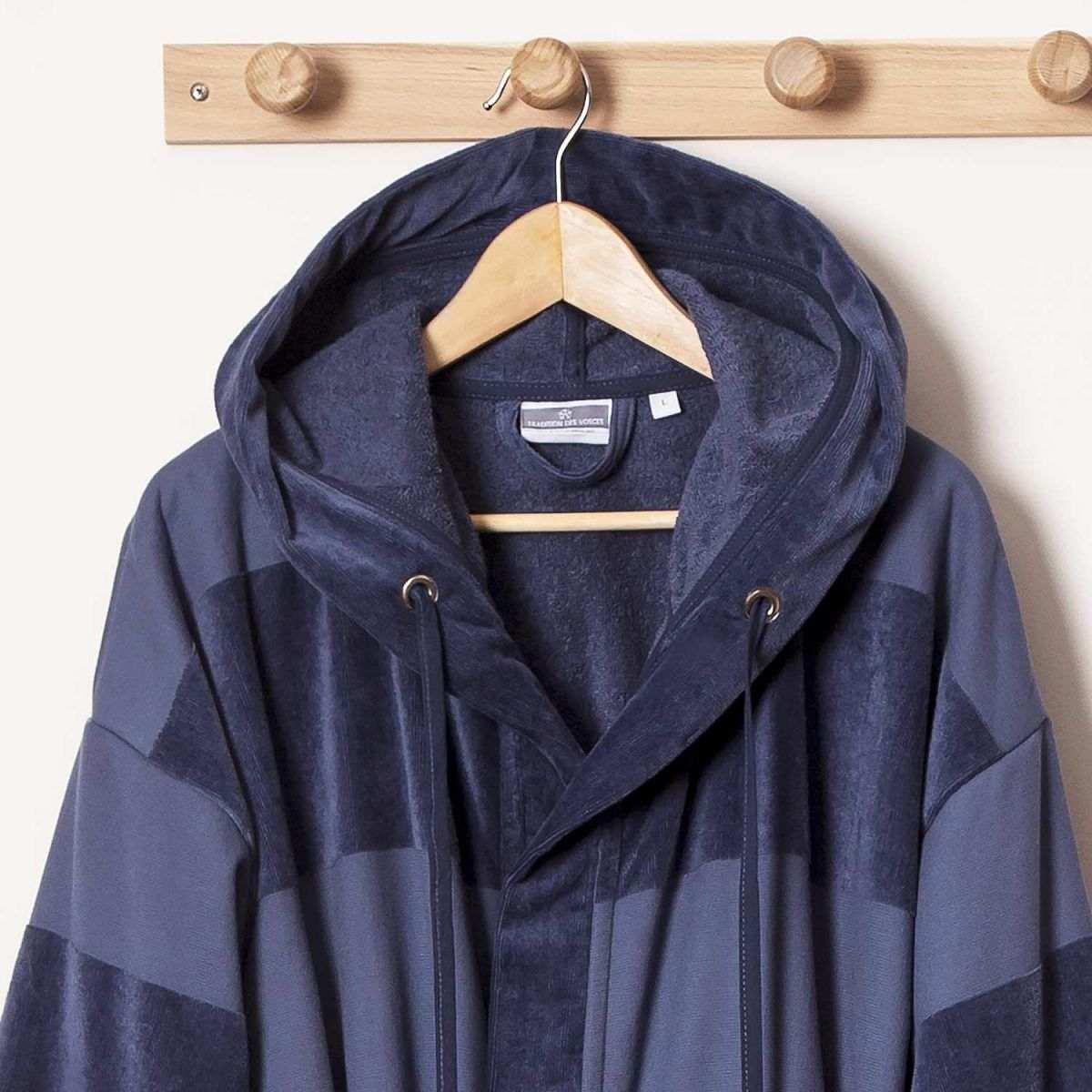 peignoir tom peignoir homme capuche tradition des vosges. Black Bedroom Furniture Sets. Home Design Ideas