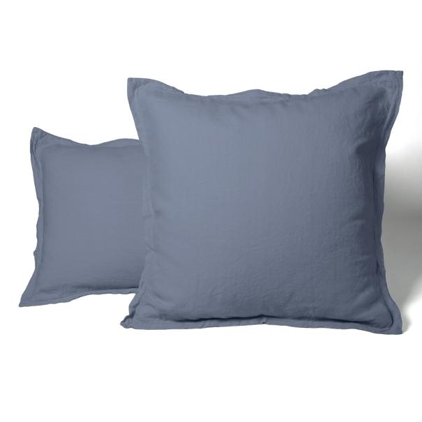 Pillowcase Washed Linen pink | Linge de lit | Tradition des Vosges