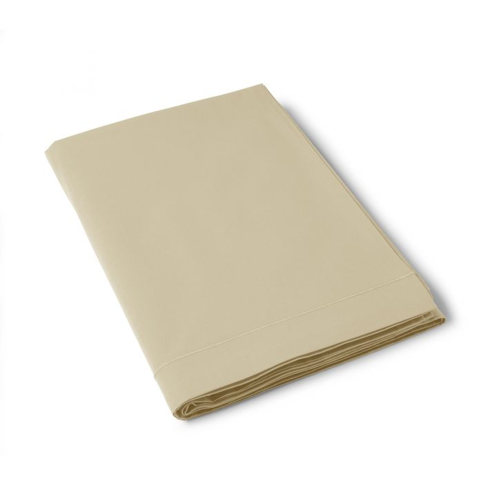 Flat Cotton Sheet mustard | Bed linen | Tradition des Vosges