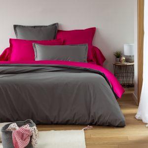 Housse Couette Double Face Uni grey | Bed linen | Tradition des Vosges
