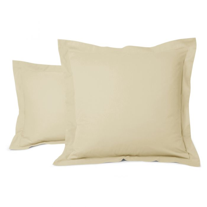 Cotton Pillow Cases yellow | Bed linen | Tradition des Vosges