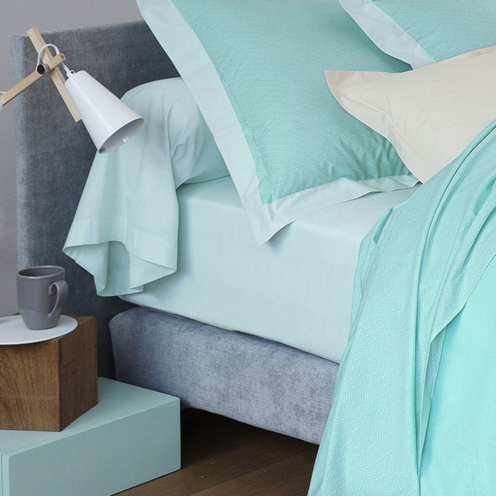 Fitted Sheet Dream Blue | Bed linen | Tradition des Vosges